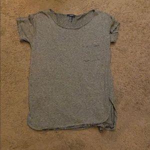 Striped shirt/dress. Loose